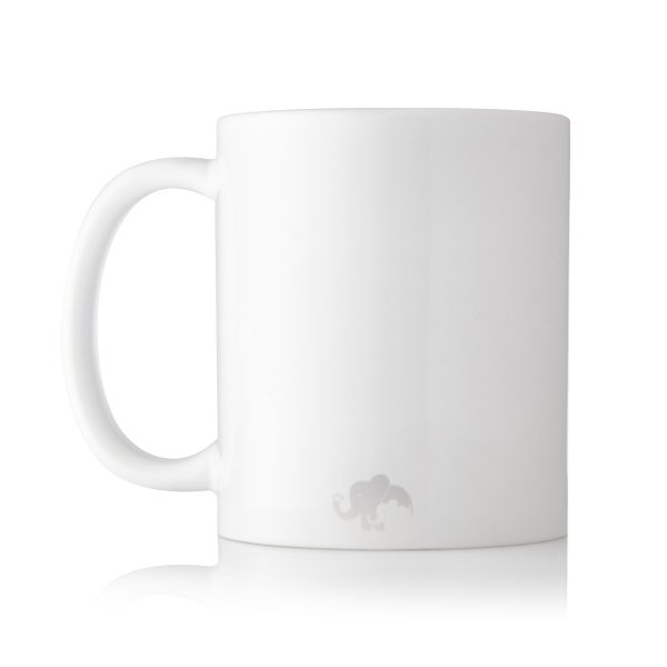 Baby Touch Back of mug Logo