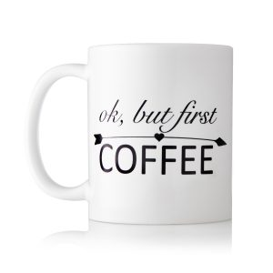 Baby Touch ok but first coffee mug