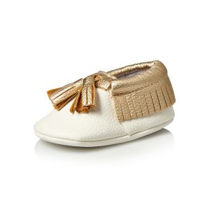 Baby Touch Baby Shoes White 1